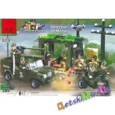 Конструктор (Brick)  Военный блокпост (аналог LEGO)